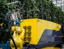 Il robot Sweeper durante i test (fonte: Research Station for Vegetable Production at St. Katelijne Waver) (ANSA)