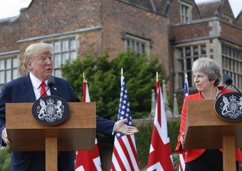 May svela, Trump m'ha consigliato di far causa a Ue