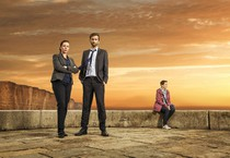 Broadchurch stagione finale su Giallo- David Tennant e Olivia Colman (ANSA)
