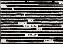 La copertina di 'Is This The Life We Really Want' di Roger Waters (ANSA)