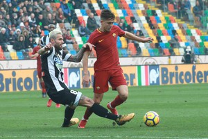 Soccer: Serie A; Udinese-Roma (ANSA)