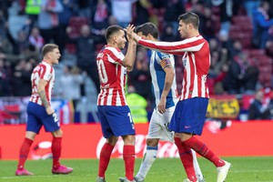 Atletico Madrid vs Espanyol (ANSA)