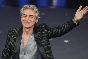 Italian singer Ligabue performs on stage at the Ariston theatre during the 69th Sanremo Italian Song Festival, Sanremo, Italy, 08 February 2019. The festival runs from 05 to 09 February.   ANSA/RICCARDO ANTIMIANI (ANSA)