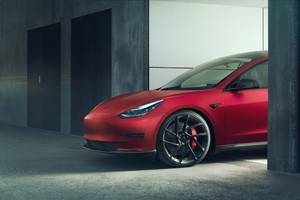 Tesla Model 3 by Novitec (ANSA)