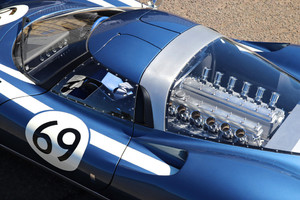 Ecurie Ecosse LM69, moderne tecnologie sotto decal d'epoca (ANSA)