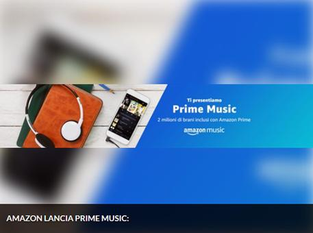 Amazon prime music sbarca in Italia © ANSA