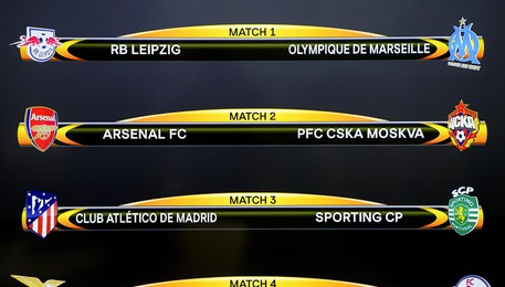 UEFA Europa League quarter final draw in Nyon