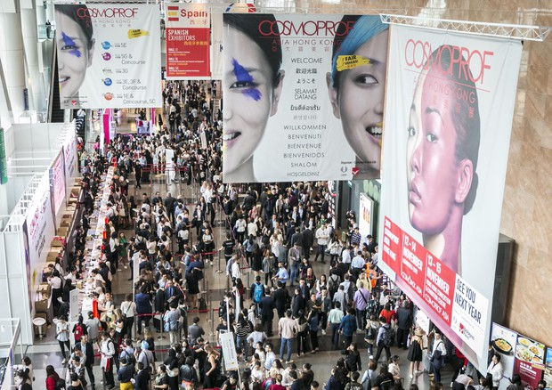 Cosmesi made in Italy, successo ad Hong Kong, export +23% © ANSA