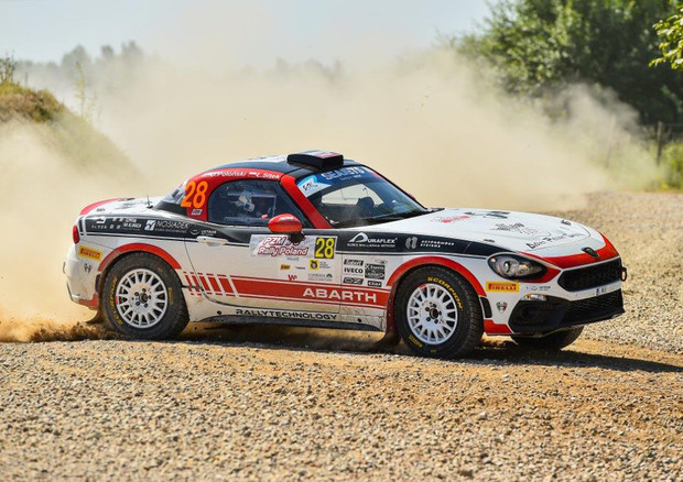 Nel week end Abarth protagonista del Rally Roma Capitale © ANSA