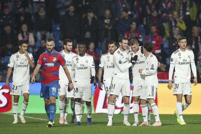 Viktoria Plzen vs Real Madrid ©