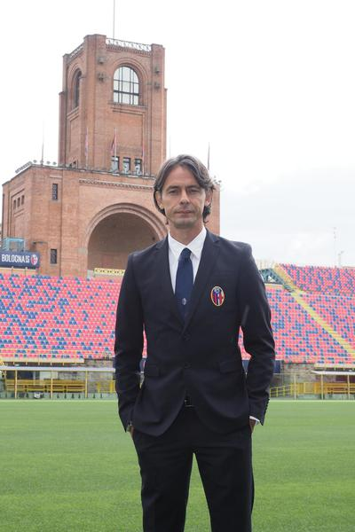 Filippo Inzaghi the new head of Bologna - Filippo Inzaghi, the new head coach of Bologna, poses for the photographers during the press conference in Bologna, Italy, 14 June 2018. © ANSA