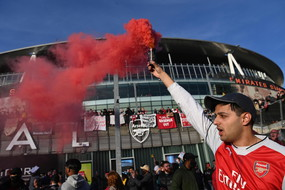 Protest at Arsenal