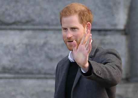 Il principe Harry © EPA